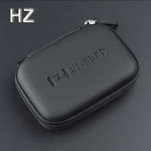 High-quality Original HZ HZSOUND In Ear Earphone Box Headphones Portable Storage Case Headphone Accessories Headset Storage Bag(China)