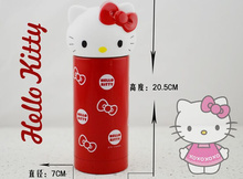 1X Random Model , Thermal Cup Hello Kitty 360ML Water Bottle Cup Vacuum Water Bottle ; Hot + Cold Keeper Bottle Cup Flask Kettle