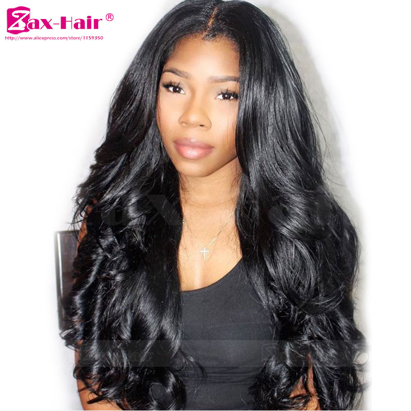 7A Human Hair Full Lace Wigs Glueless In Stock Unprocessed Full Lace Human Hair Wigs Wavy For Black Women Virgin Lace Front Wigs<br><br>Aliexpress