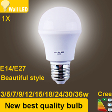 E14 E27 LED lamps led lights Corn Bulb E27 3W 5W 7W 9W 12W 15W 18W 24W 30W 36W AC220V 230v 240v led bulb