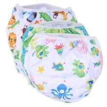 Unisex One Size Baby Diapers Waterproof Adjustable Newborn Swim Pool Pants Swim Diaper Reusable Washable Infant Pool Cloth Cover(China)