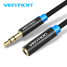 Vention Headphone Extension Cable 3.5mm Jack Male to Female Aux Cable 3.5 mm Audio Extender Cord For Computer iPhone Amplifier(China)
