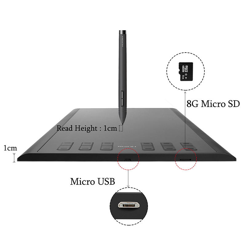 HUION-New-1060-Plus-8192-Levels-Digital-Tablets-Drawing-Tablets-Signature-Pen-Tablet-Professional-Graphic-Tablets (4)