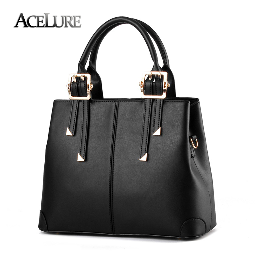 Female bag 2017 new fashion style handbag European and American style female tote temperament simple women Messenger bag<br><br>Aliexpress