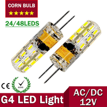 Buy G4 LED Corn bulb 12V Lamp AC/DC Led Bulb Light 3W 6W Spotlight Replace Halogen Lamp 360 Beam Angle Free for $1.10 in AliExpress store