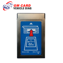 For GM TECH2 Software 32 MB Card for GM/Opel/SAAB/ISUZU/Suzuki/Holden / Pcmcia Memory Card(China)