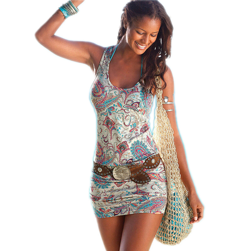 Summer Dress 2017 Off Shoulder Indian Dashiki Dress Retro Vintage Rockabilly Shirt Dress Sexy Sheath Ladies Mini Bodycon Dress(China)