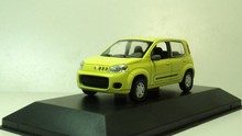 NOREV 1:43 FIAT UNO 2012  Diecast car models Yellow