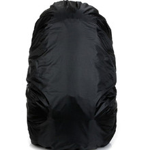 Outdoor Mountaineering Bag Rain Cover Black Waterproof Cover 70L (China)