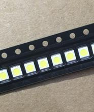 50PCS/Lot 3528 2835 3V SMD LED Beads 1W LG Cold White 100LM For TV/LCD Backlight