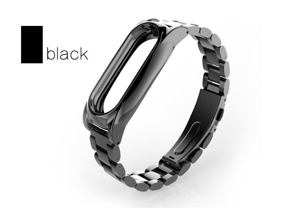 Original Stainless Steel Metal Plus Fitbit Free tool Xiaomi miband 2 Smart Bracelet Replacement Fitness Tracker mi Accessories 11