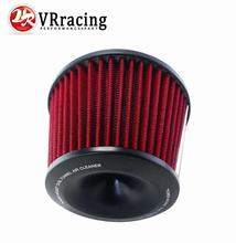 VR RACING - Universal Racing Car Air Filter Air Intake With Aluminum Adapter Neck:76mm VR-AIT32