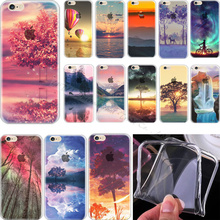 Ultra Soft TPU Cover For Apple iPhone 4 iPhone 4S iPhone4 iPhone4S Case Cases Phone Shell Magic Design Color Painted Ocean