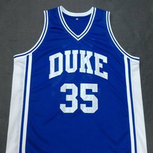 DANNY FERRY DUKE Blue Devils Basketball Jersey Embroidery Stitched Customize any size and nam