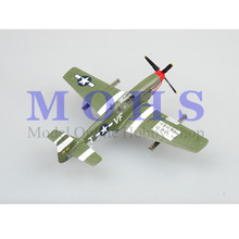 EASY MODEL 36359 1/72 Assembled Model Scale Finished Model Scale Airplane Scale Aircraft Warbird Mustang P-51B Fighter 4THFG(China)