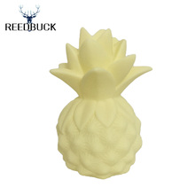 2017 New Arrivals Creative Night Lights Yellow Pineapple Led Lamp Silicone Toy Gift Light High Power Desk Table Decor Night Lamp