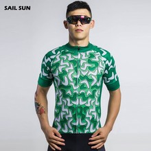 SAIL SUN Mens Sports Outdoor Team Ropa Ciclismo Cycling Jersey Top Shirt Bicycle Wear Clothing Short Sleeve S-XXXL