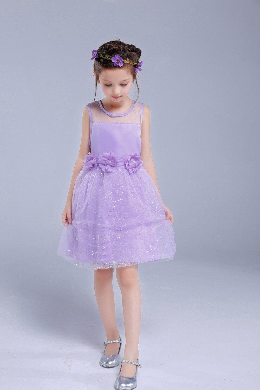 AiLe Kaninchen Kinder Infant Mädchen Blume Blütenblätter Kleid Kinder Brautjungfer Kleinkind Elegante Kleid Pageant Hochzeit Braut Tüll Kleid