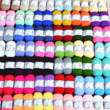 5PCs/lot Milk Line Cotton Yarn Crochet Baby Blanket Scarf Hat Braided Wire Felt for Spinning Hand Knitting Spin Yarn Winter Warm