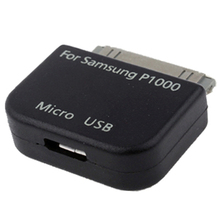 On Sale  Micro USB Adapter Converter for Samsung Galaxy Tab/ P1000/ N5100/ P3100/ P7300/ P7500/ P6200/ P6800