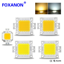 Full Watt 10W 20W 30W 50W 100W High Quality Integrated Chip Epistar lamp Taiwan LED For DIY Floodlight Spotlight