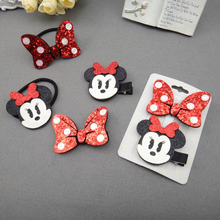 Top cute kids baby girls hair clip pin bowknot hairpin headwear barrette accessories for children hairgrips clip headdress lot(China)