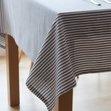 3 Colors Strip Style Table Cloth Kitchen & Table Linens Red Tablecloth Gray Table Cover Nappe De Table Rectangular Tablecloths