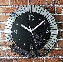 wall clock safe modern design digital vintage large