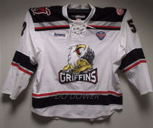 #52 D. McIlrath Grand Rapids Griffins White Men's Hockey Jersey Embroidery Stitched Customize any number and name Jerseys(China)