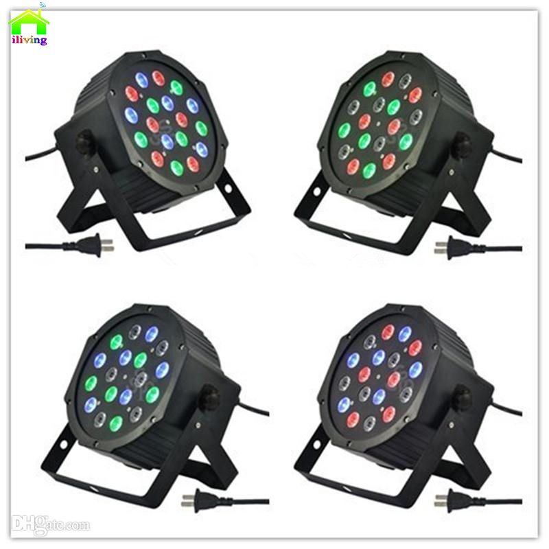 Disco Light  LED Flat Par Lighting Stage Spot DMX Control discoteca Wedding party lights laser de projector lumiere controller<br><br>Aliexpress