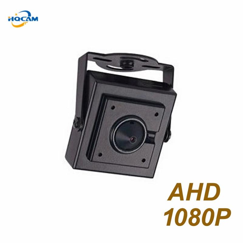 HQCAM 1080P Mini AHD Camera Mini Type FHD 1920 x 1080P 2.0MP Indoor AHD Camera Metal Security Camera CCTV Cam Free shipping<br>