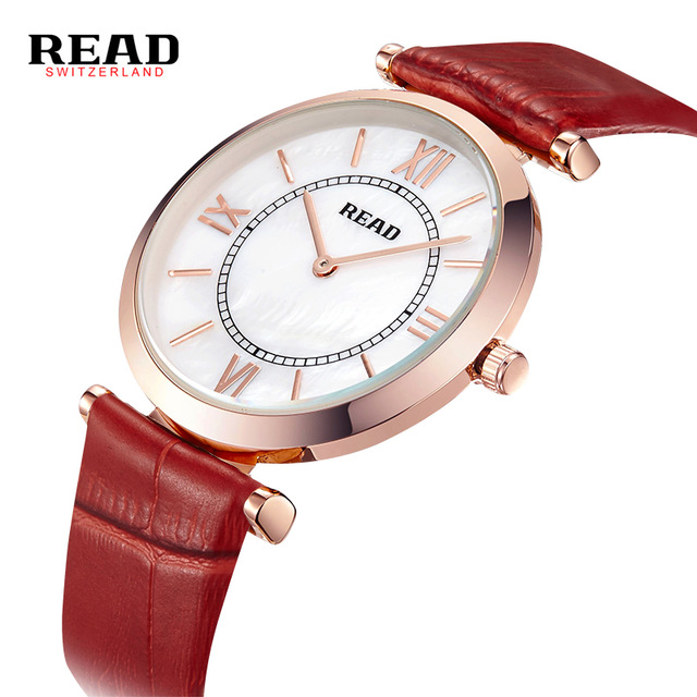 READ fashion ladies watches waterproof leather belt female form R28057<br><br>Aliexpress