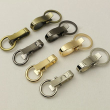 20 pcs Metal Wire-Formed Snap Hook DIY Bag Accessories Asas De Bolso Purse Snap Hooks Ornament China Factory Supplier Metal Hook(China)