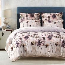 2017 Flowers Printed Twin Queen King Size Boho Palace Bedding Set Duvet Cover Bed Sheet Bed Cover  US UK RU S4BS012