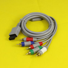 1.8m 1080P Component Game Cable for Nintendo Wii HDTV Audio Video AV 5 RCA Game Adapter Audio Video Cable for Nintendo Wii Game