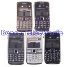 BaanSam New For Nokia E72 High Quality Phone Housing Case Replacement Parts With Keyboard + Buttons