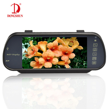 Factory Supply!!! Bluetooth Car Monitor 7 Inch TFT LCD 800*480 Resolution 2 Video Input SD USB MP5 Video Player Built-in Speaker
