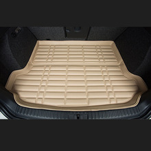 Fit Car Custom Trunk Mats Cargo Liner for Toyota Camry Corolla RAV4 Verso REIZ  Car-styling 5D Carpet Rugs