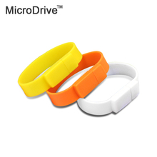 Cheap price!  USB Flash Drive Pen Drive Silicone Bracelet 64GB 16GB 8GB 32GB Stick U Disk Pendrive Wrist Band USB 2.0 Stick