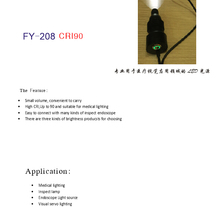 USB Supply ENT Llight source LED portable light source endoscope light source,ENT light /FY208 50pcs/bag free shipping.