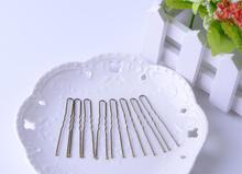 Buy Light brown bobby pins 6cm 100pcs/lot hair pins ripple pins barrettes hair clips women accessories headwear New arrival for $2.29 in AliExpress store