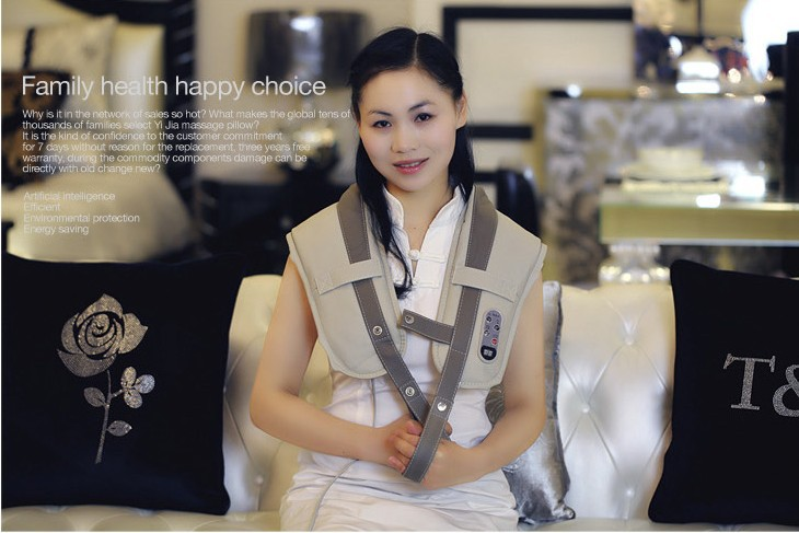 Electric Knock Body Massager shoulder massage device cape slim massage belt back shape belt Neck Back Massage Relax Device<br>