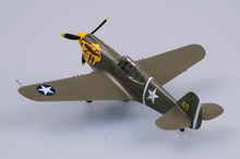 EASYMODEL scale model 37272 1/72 scale aircraft airplane P40E 11FS 343FG assembled model finished model do not need to assemble