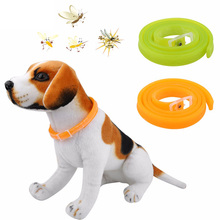 2017 New Adjustable Dog Cat Repel Tick Flea Kill Remover Pet Protection Aroma Neck Collar Insect Repellent Collar Pet Supplies(China)