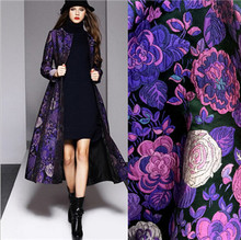 Jacquard Brocade Fabric,Fabric for Dress Skirt Vest Jacket,Chinese Sewing Diy Material Cloth20170100865
