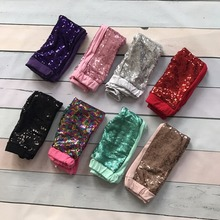 leggings spring Fall/winter  Sequins solid hot pink black white full length  baby girls icing pants  cheap baby  ruffle hot sell