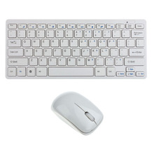 Russian Wireless Keyboard Mouse Combo 2.4G Wireless Mouse Multimedia Keys for Windows XP /7/8/10 Android TV Box Laptop Desktop(China)