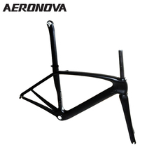 Carbon Frame Road Bicycle Frames BSA68 AERONOVA T800 Full Carbon Fiber Road Bike Frame UD Matte Black Cycling Accessories(China)