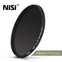 NiSi 46mm Slim Circular Polarizer Polarising CPL Filter for Canon EOS M2 M EF-M 22mm F2 STM / Canon Camcorder