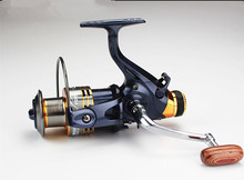 Double brake system(front  and back) SW5000 6000  11BB 5.1:1 Bass Carp metal Spinning Fishing Reel  Gear Wheel Coil
